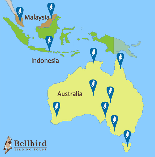 Map of our tours