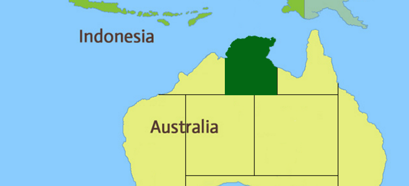 Red Centre Region Map