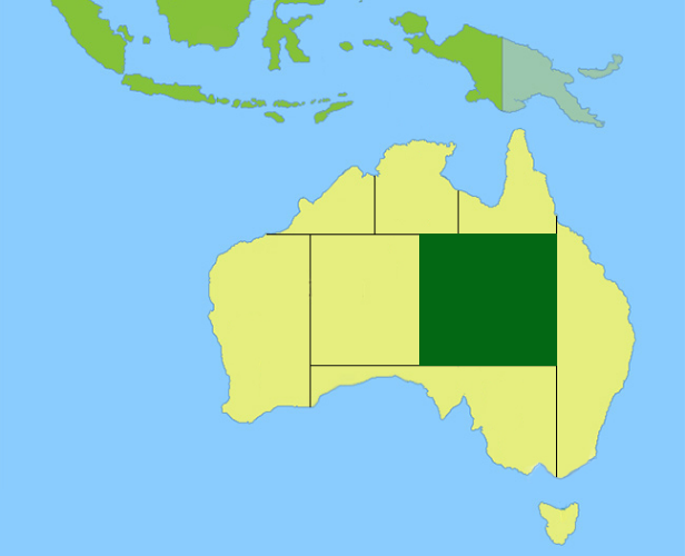 Top End Region Map